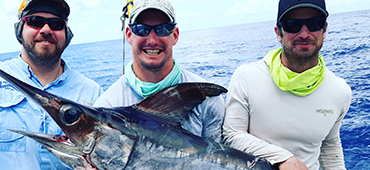 Swordfishing in Key Largo